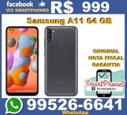 T*O*P* Samsung A11 64GB excelente custo benefício  3862iybqu/*