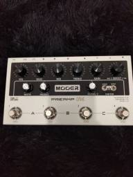 Pedal Mooer Preamp Live