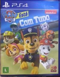 Jogo patrulha canina ps4/ps5