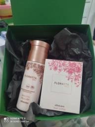 Kit Mães Boticário Combo Floratta Rose + Creme Hidratante Rose