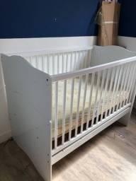 Berço americano (mini-cama) com colchão