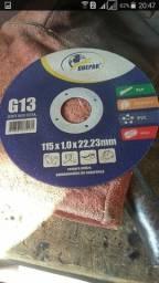 Eletrodos e discos de corte