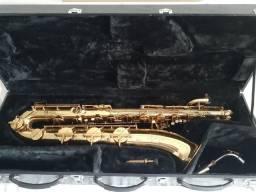 Sax Barítono europeu AK com lá grave original