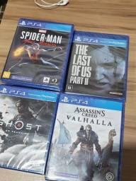 Jogos de PS4 Novos - Lacrados