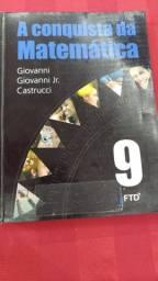 Livro A Conquista da Matemática 9º ano EF