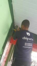 Câmeras ,CFTV  IP<br>,Alarmes ,Interfones,Automatizador de portão,Cerca elétrica