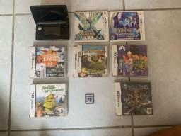 Nintendo 3ds + jogos originais