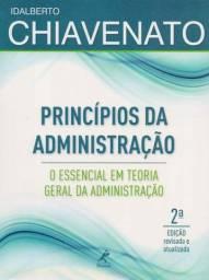 Livro Princípios da Administração