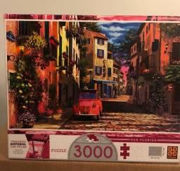 Vendo Quebra-Cabeça Rua Florida 3000 peças - Grow  R$ 100,00 - Novo