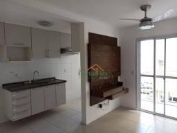 Apartamento com 2 dormitórios para alugar, 65 m² por R$ 1.200/mês - Valparaíso - Serra/ES