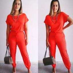 Conjunto malha viscolycra calça + blusa 179,70