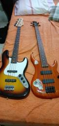Baixo giannini modelo jazz bass