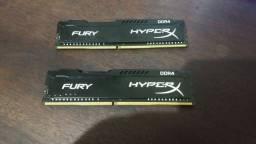 Memória HyperX Fury 8GB DDR4