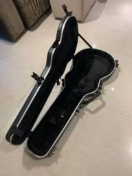 Case rigido pra guitarra lespaul SKB zerado