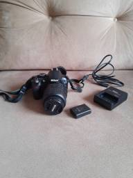 Nikon D3100 + lente 18-55