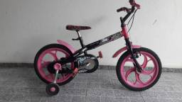 Bicicleta Caloi Monster High