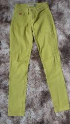 Calça verde Opção Jeans