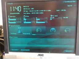 Placa mãe Asus lga1155 para Intel de 2ª e 3ª geração i3/i5/ e i7