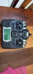 Turnigy 9X com módulo FrSKY