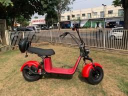 Scooter eletrica vermelho ferrari 1000w