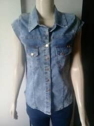 Título do anúncio: Blusinha jeans