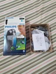 Barbeador Elétrico Philips AquaTouch AT751/14 5W Novo, Nunca Usado