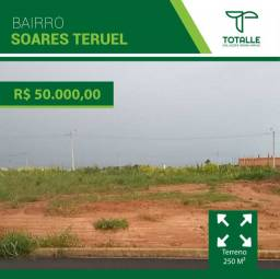 Terreno para venda no Bairro Soares Turuel/ Penápolis (250 m²)