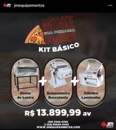 Kit básico pizzaria - JM equipamentos