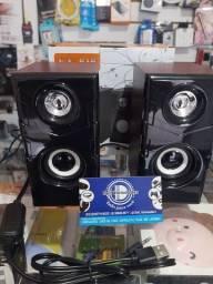Caixinha de som para computador e notebook de alta qualidade Dell variedades conferir