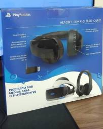 Headset Playstation Série Ouro Novo Lacrado Sem Uso c/ NF