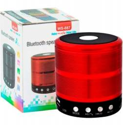 Caixa De Som Bluetooth Portátil Mp3 Usb Micro Sd Pen Drive
