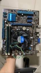 KIT I3 3220 - Placa mãe / processador / Ram