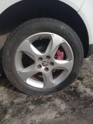 Troco rodas aro 16 c/ pneu 5x10p em aro 20c/ pneu 5x100, pago  diferença