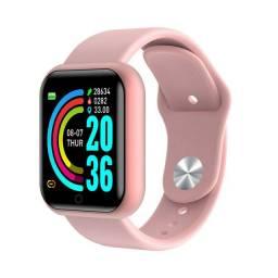 PROMOÇÃO Pulseira Smart Y68 /Monitor Cardíaco de iOS/Android