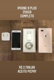 iPhone 8 Plus - 256GB - Completo
