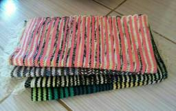 Kit C/3 tapetes zebrinhas artesanais