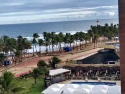 Título do anúncio: Alugo ap 2/4 (1 suíte), frente mar com vista deslumbrante do Farol de Itapuã- Itapuã