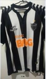 Camisa original do Atlético Mineiro 2012 Topper. Era Ronaldinho. Galo 12