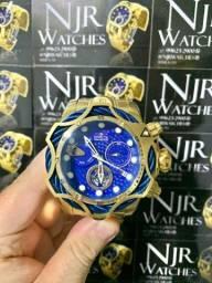 Relógio invicta venom azul lacrado