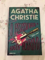 Livro O assassinato de Roger Ackroyd (Agatha Christie)
