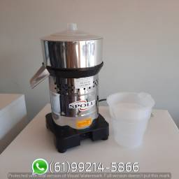 Extrator de suco Inox 350W Grande Industrial Spolu
