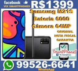 M21S Bateria-6000 camera-64MP 64GB_e_4GB_ram Samsung  4706zzwec*_-_*