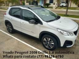 Oportunidade única!!! Peugeot 2008 Griffe 19/20 Aut 6 marchas