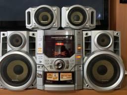 Som Mini Sistem 2200W Panasonic 4 caixas