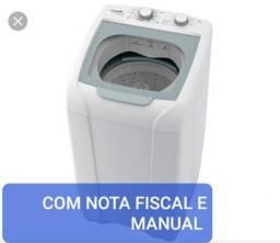 VENDO MÁQUINA DE LAVAR 8KG SEMINOVA COM NOTA FISCAL E MANUAL