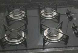 Fogão cook top 4 bocas bivolt