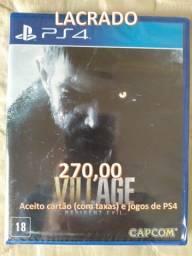 Resident Evil Village 8 PS4 - Novo Lacrado