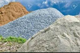 Areia . Areola . Aterro . Pedra