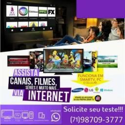 Sistema Streaming Tv Box smart tv android