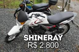 Vendo Shineray 150 e Honda BIZ 100, perfeito estado - 2015